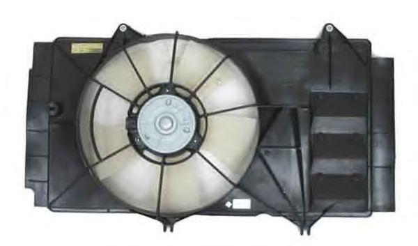 Вентилятор, охлаждение двигателя Toyota 163630H030