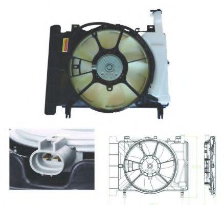 Вентилятор радиатора Toyota 1636328160