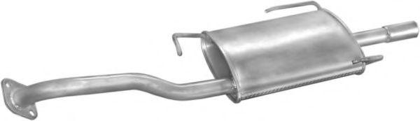 Глушитель Nissan 2010057Y01