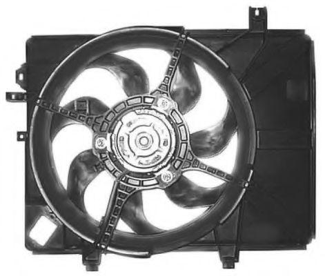 Вентилятор радиатора Hyundai/Kia 252312D000