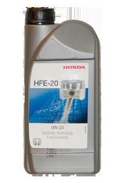Масло моторное 0W-20 HFE-20, 1л Honda 08232P99A2LHE