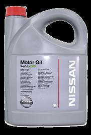 Масло моторное синтетическое Motor Oil DPF 5W-30, 5л Nissan KE90090041