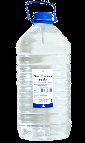 Дистиллированная вода, 5л AD ADVODA5L