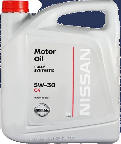 Масло моторное синтетическое Motor Oil DPF 5W-30, 5л Nissan KE90090043