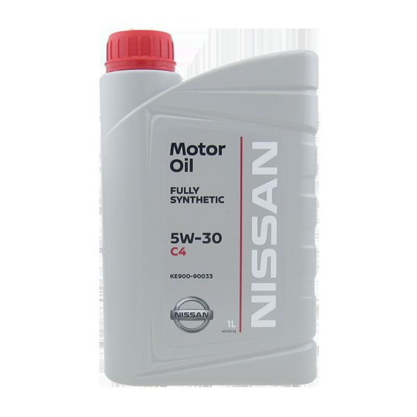 Масло моторное синтетическое Motor Oil DPF 5W-30, 1л Nissan KE90090033