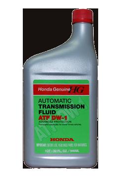 Жидкость для АКПП ATF DW 1 (Z1), 1л Honda 082009008
