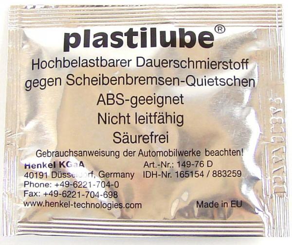 """LOCTITE - 883259 Синтетическая смазка для тормозной системы """"plastilube"""", 0.0055"""