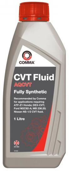 COMMA - AQCVTTRANSFLUID1L Жидкость для бесступенчатых коробок передач CVT, 1л