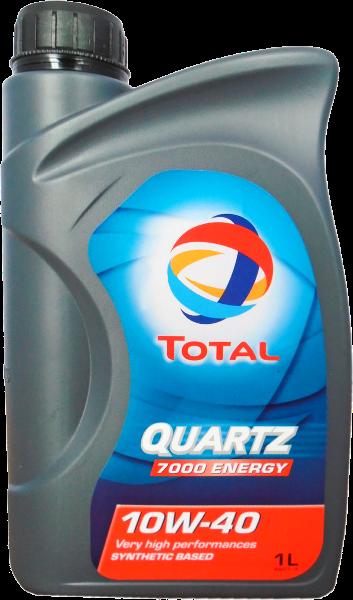 Масло моторное QUARTZ 7000 ENERGY 10W-40, 1л Total 167637