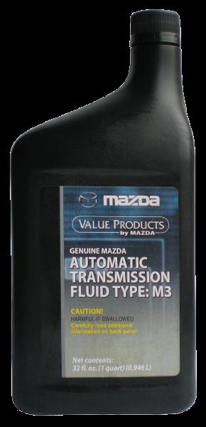 Масло трансмиссионное ATF M-III, 1л Mazda 000077110E01