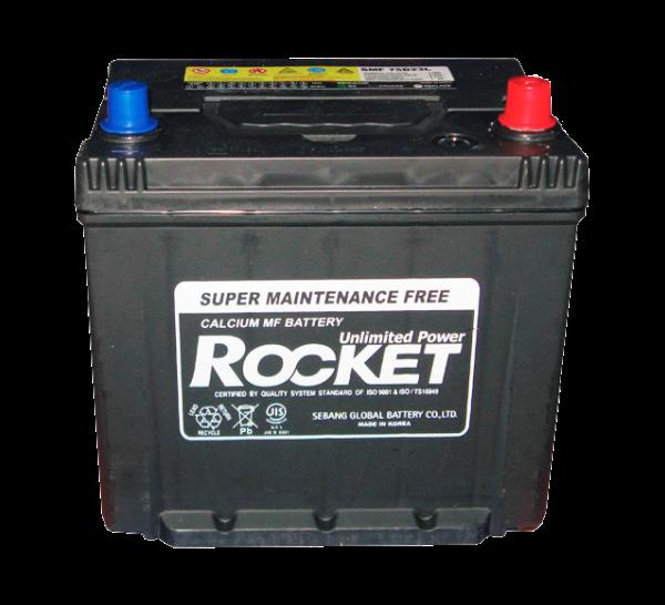 ROCKET - SMF75D23L Аккумулятор ПРАВ [+] 12V 65AH 580A 230*173*225