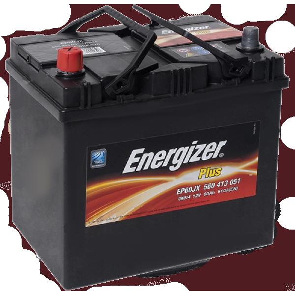 Аккумулятор 60Ah-12v Plus (232х173х225), L, EN510 Energizer 560413051