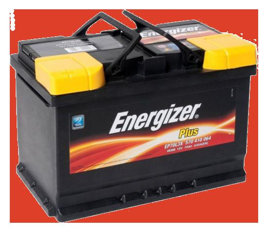 Аккумулятор 70Ah-12v Plus (278х175х190), L, EN640 Energizer 570410064