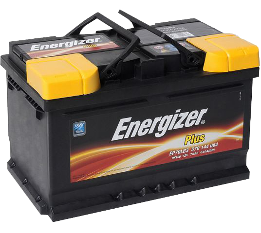 Аккумулятор 70Ah-12v Plus (278х175х175), R, EN640 Energizer 570144064