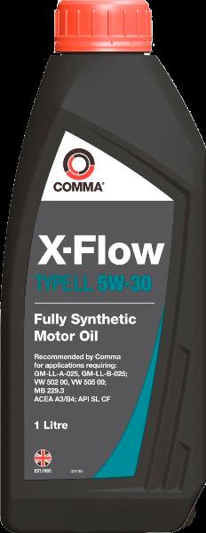Масло синтетическое X-FLOW LL 5W-30, 1л COMMA XFLOWLL5W30SYNT1L