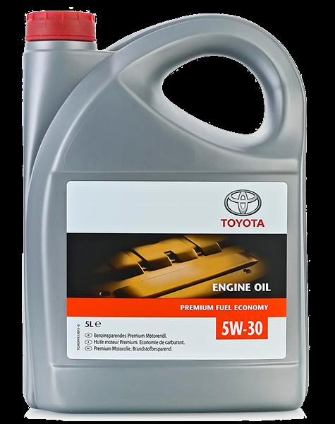 Масло моторное синтетическое Premium Fuel Economy 5W-30, 5л Toyota 0888083389