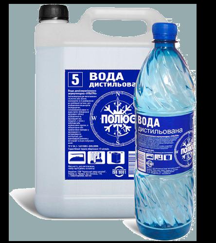 Дистиллированная вода, 5л POLUS 5LWATERPOLUS