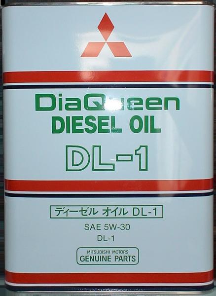 Масло моторное DiaQueen Diesel DL-1 5W-30, 4л Mitsubishi 8967610