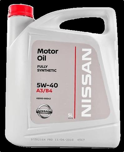 Моторное масло Nissan