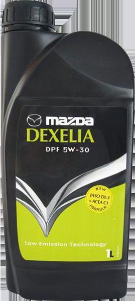 Масло моторное Dexelia DPF 5W-30, 1л Mazda 053001DPF