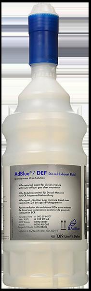 Жидкость AdBlue для снижения выбросов (мочевина), 1.9 л Mazda 0000AD002