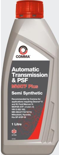 COMMA - MVATFPLUS1L Трансмиссионное масло MVATF PLUS, 1л
