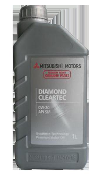 Масло моторное синтетическое Diamond Clear Tec 0W-20, 1л Mitsubishi MZ320080