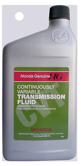 Масло трансмиссионное HONDA CVT Fluid, 0,946л Honda 82009006