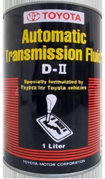 Масло трансмиссионное ATF D-II, 1л Toyota 0888681006