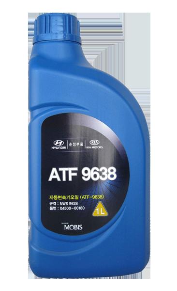 Масло трансмиссионное полусинтетическое ATF NWS9638, 1л Hyundai/Kia 0450000180