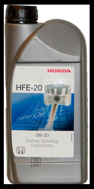 Масло моторное синтетическое HFE-20 0W-20, 1л Honda 08232P99A1HMR