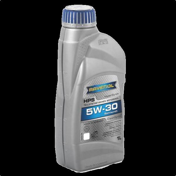 Масло моторное полусинтетическое HPS 5W-30, 1л RAVENOL 4014835722811