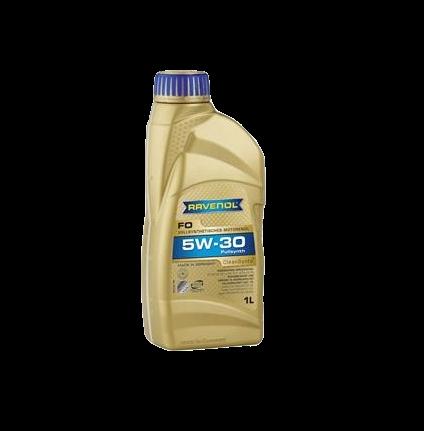 Масло моторное синтетическое FO 5W-30, 1л RAVENOL 4014835722613