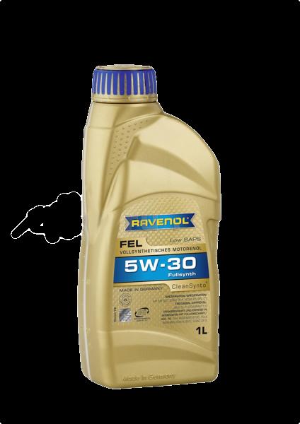 Моторное масло fel 5W-30, 1л RAVENOL 4014835723412