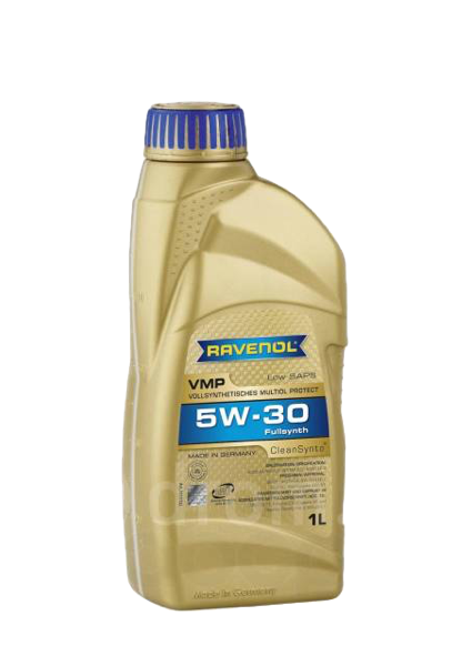Масло моторное синтетическое VMP 5W-30, 1л RAVENOL 4014835723313