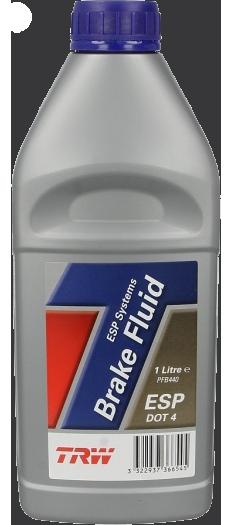 Тормозная жидкость DOT4, 1л TRW PFB440