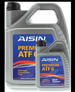 Масло трансмиссионное PREMIUM ATF6, 1л AISIN ATF92001