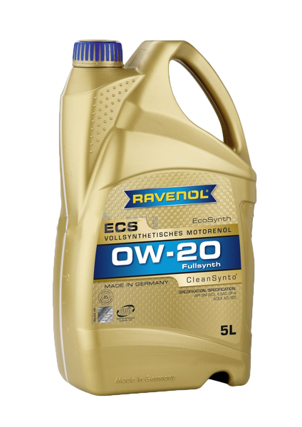 Масло моторное синтетическое ECS EcoSynth 0W-20, 5л RAVENOL 4014835718555