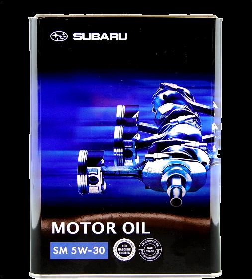 Масло моторное синтетическое SM 5W-30, 4л Subaru K0215Y0271