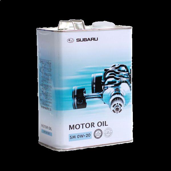 Масло моторное синтетическое 0W-20, 4л Subaru K0215Y0272
