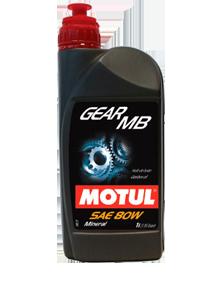 MOTUL - 807501 Масло трансмиссионное минеральное GEAR MB 80, 1л