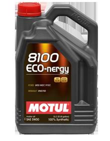MOTUL - 812306 Масло моторное синтетическое 8100 ECO-NERGY 5W-30, 5л