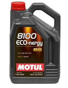 Масло моторное синтетическое 8100 ECO-NERGY 5W-30, 4л MOTUL 812307