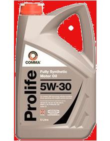 Масло моторное Prolife 5W-30, 5л COMMA PROLIFE5W305L