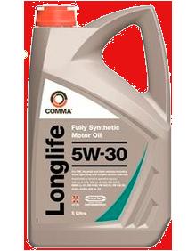 Масло моторное Long Life 5W-30, 5л COMMA LONGLIFE5W305L