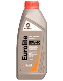 Масло моторное Eurolite 10W-40, 1л COMMA EUROLITE10W401L