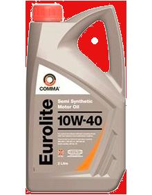 Масло моторное Eurolite 10W-40, 2л COMMA EUROLITE10W402L