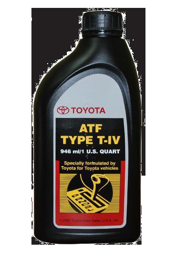 Жидкость для АКПП ATF Type T-IV, 1л Toyota 00279000T4