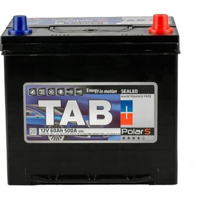 Аккумулятор 60 Ah/12V TAB Polar S (0) Euro Japan TAB 246860