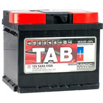 Аккумулятор 54 Ah/12V TAB Magic (0) Euro TAB 189054